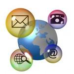 Monde et moyens de communication